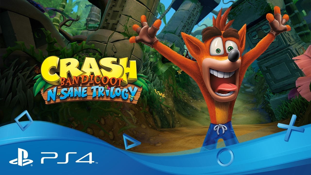 crash bandicot nsane triogy classifica migliori giochi ps4