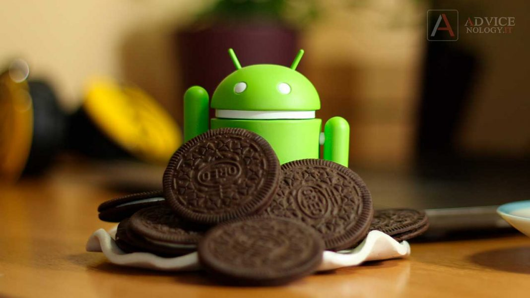 Android Oreo robottino