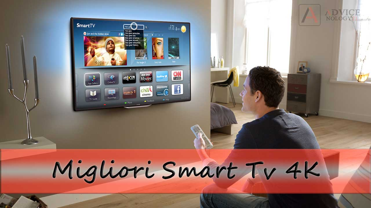 migliori smart tv 4k guida acquisti 2018. Black Bedroom Furniture Sets. Home Design Ideas