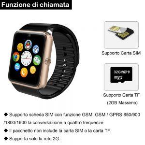 smart watch willful sim slot