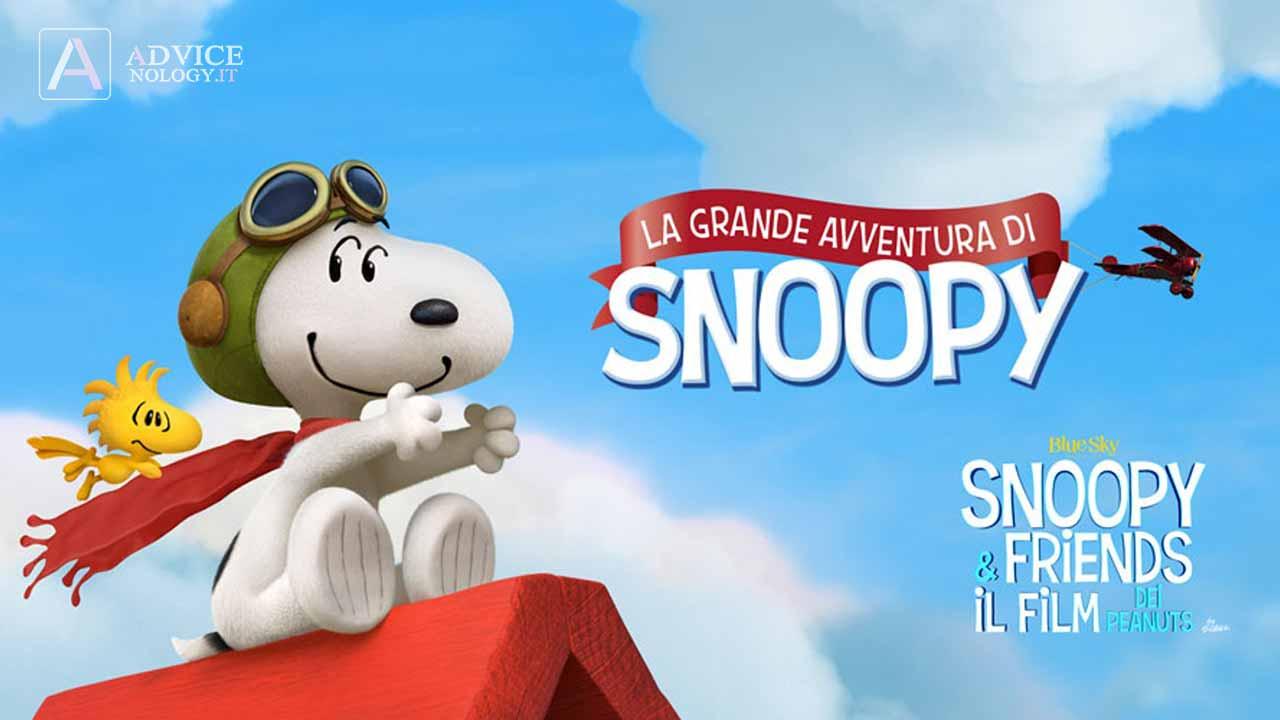 le grandi avventure di snoopy