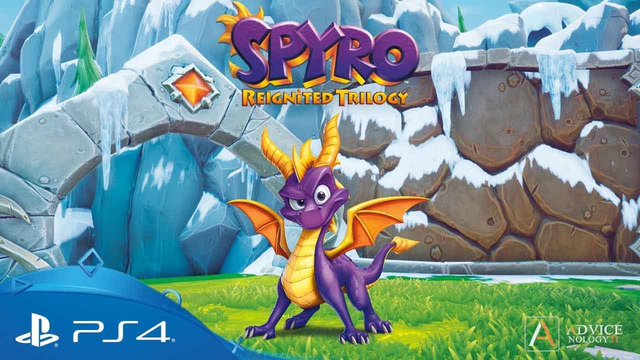 Spyro rimasterizzato giochi ps4 per bambini di 10 anni