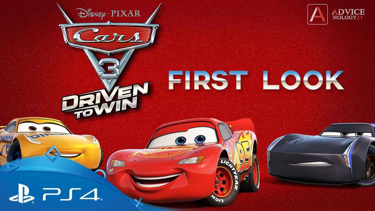 cars 3 miglior gioco auto ps4 per bambini