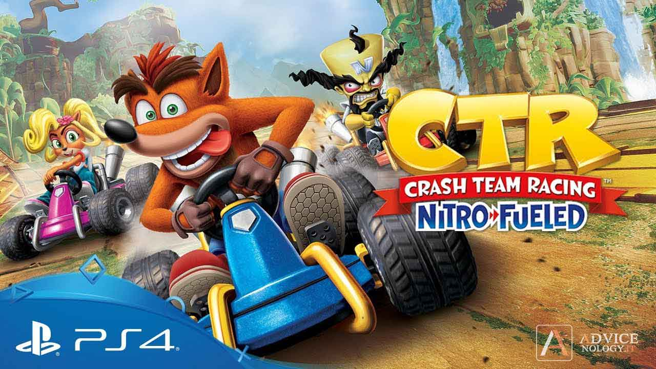 crash team racing nitro fueled pegi 7