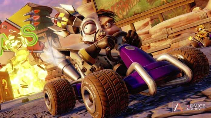 n gin crash nitro fueled personaggi
