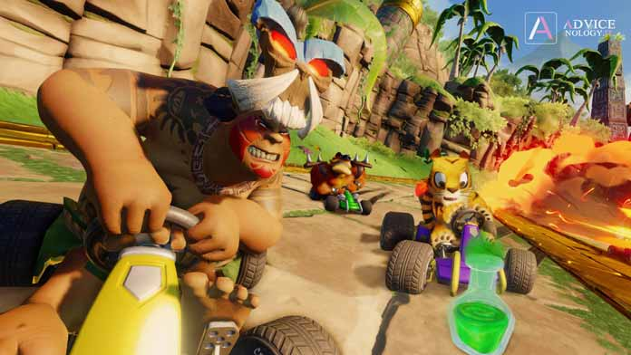 papu crash team racing nitro fueled personaggi nascosti