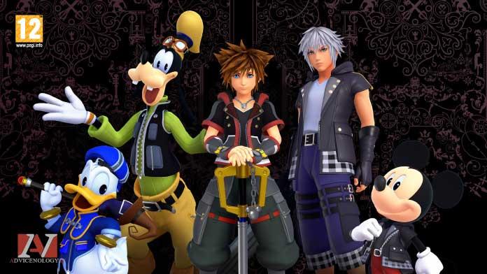 Kingdom Hearts giochi xbox one bambini pegi 12