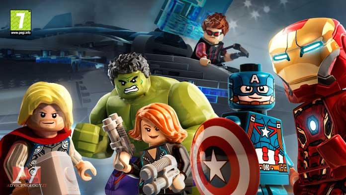 Lego Marvel Avengers giochi xbox one bambini pegi 7