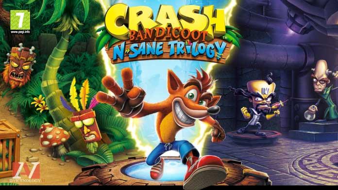 crash bandicoot giochi xbox one bambini pegi 7