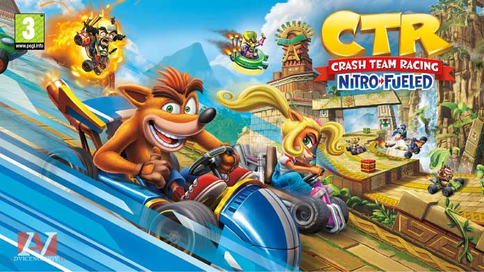 crash team racing giochi xbox one pegi 3