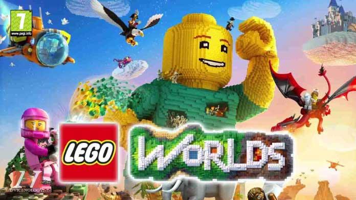 lego worlds giochi xbox one bambini pegi 7