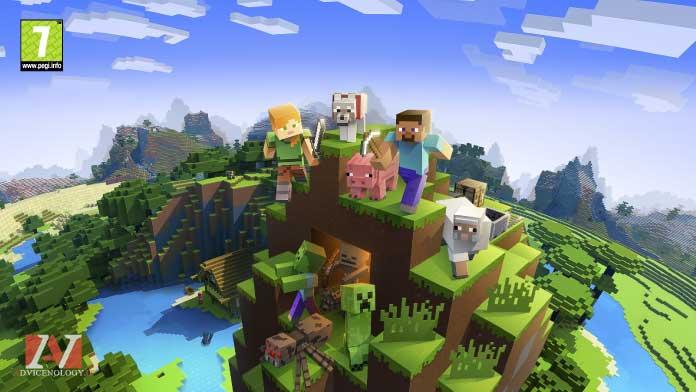 minecraft giochi xbox one bambini pegi 7