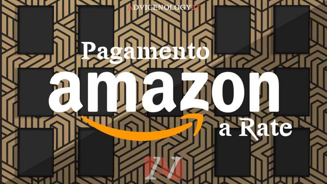 pagamento rate amazon italia