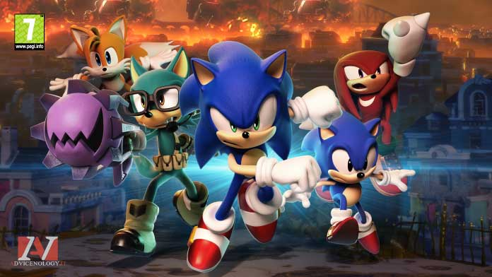 Sonic Forces giochi xbox one bambini pegi 7