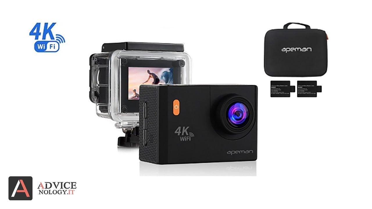 apeman 4k action cam